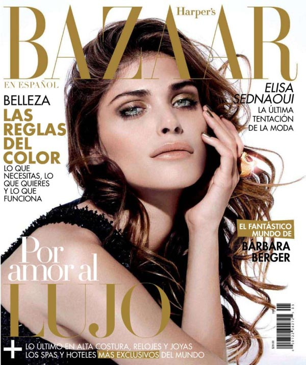 Harper's Bazaar Mexico May 2011 Cover | Elisa Sednaoui by Papo