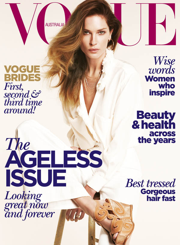 Vogue Australia June 2011 Cover | Erin Wasson by Nicole Bentley