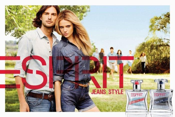 Esprit Jeans Style Fragrance Campaign   Martha Streck by Derek Kettela