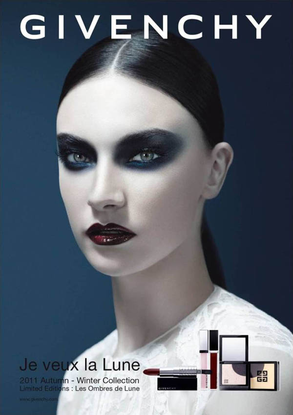 Jacquelyn Jablonski for Givenchy Beauty Fall 2011 Campaign