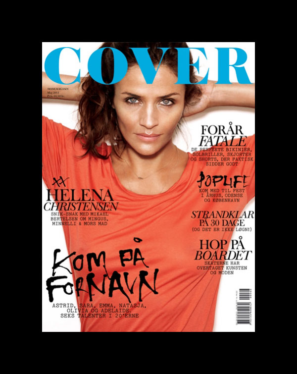 Cover Magazine May 2011 Cover | Helena Christensen by Rasmus Skousen