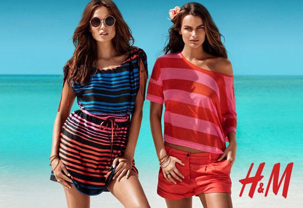Natasha Poly, Edita Vilkeviciute & Others for H&M Summer 2011 Campaign
