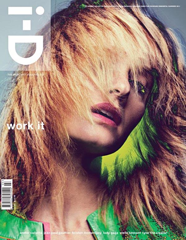 Amber Valletta & Behati Prinsloo for i-D Summer 2011 Covers