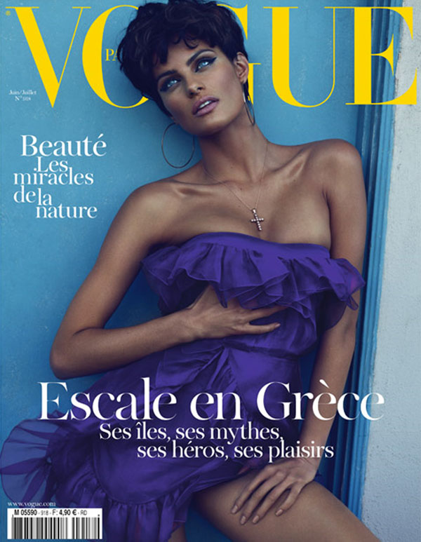 Vogue Paris June/July 2011 Cover   Isabeli Fontana by Mert & Marcus