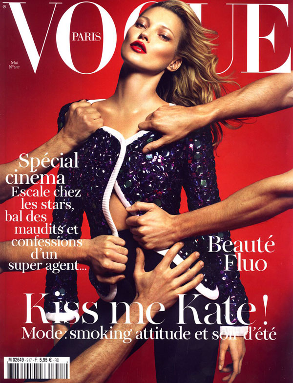 Vogue Paris May 2011 Cover | Kate Moss by Mert & Marcus