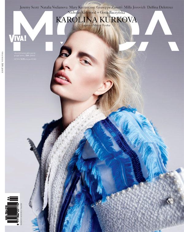 Karolina Kurkova Covers Viva! Moda Summer 2011