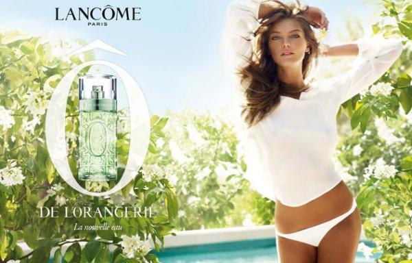 Daria Werbowy for Lancome O de L`Orangerie Fragrance Campaign