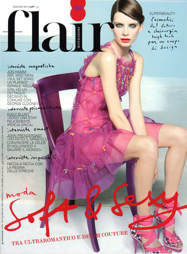 Flair May 2011 Cover | Luca Gadjus by Paolo Zambaldi