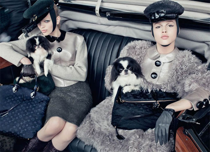 Louis Vuitton Fall 2011 Campaign by Steven Meisel (Preview)