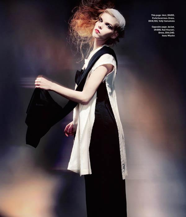 Meghan Collison by Tina Chang for M Magazine