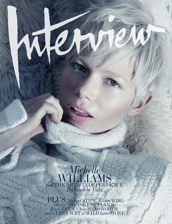 Interview May 2011 Cover   Michelle Williams by Mikael Jansson