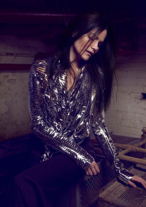 Missy Rayder by Beau Grealy for Grey S/S 2011