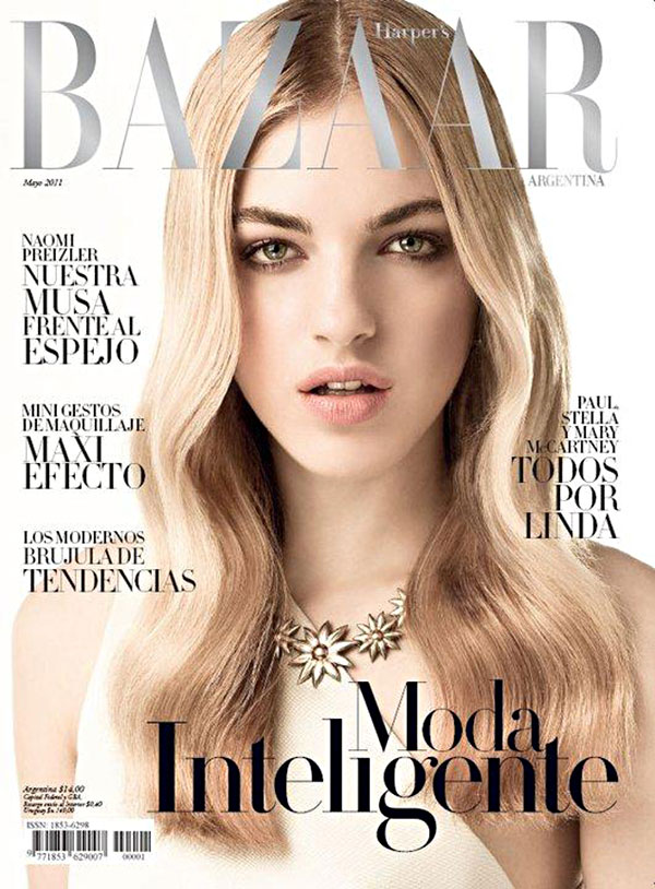 Naomi Preizler for Harper's Bazaar Argentina May 2011 (Cover)