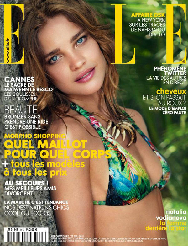 Natalia Vodianova for Elle France May 27, 2011 (Cover)