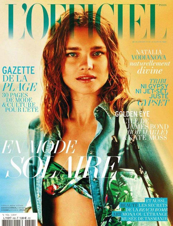 Natalia Vodianova for L'Officiel Paris June/July 2011 (Cover)