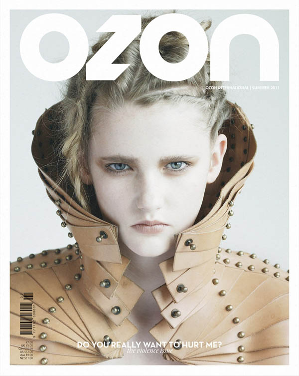 Ozon Summer 2011 Cover | Anna by Nikolas Ventourakis