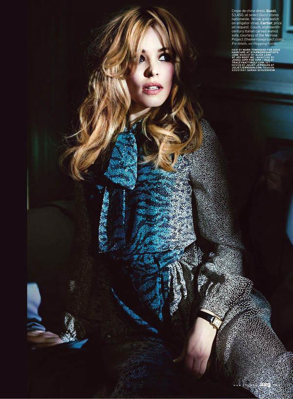 Rachel McAdams by Alexei Hay for Elle US June 2011