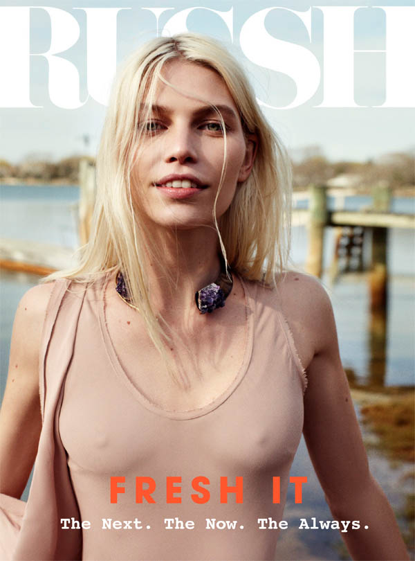 Russh #40 June/July Cover | Aline Weber by Benny Horne