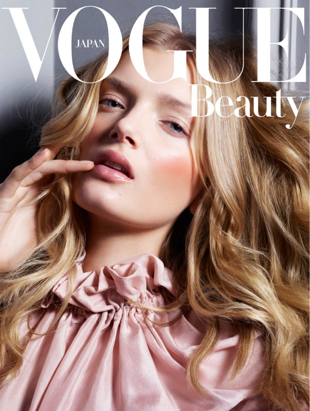 Lily Donaldson by Jem Mitchell for Vogue Japan August 2011